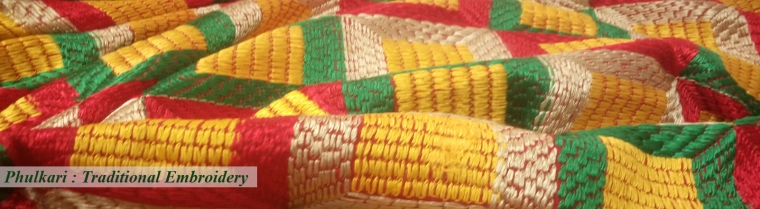phulkari traditional embroidery